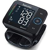 Beurer BC 54 Handgelenk-Blutdruckmessgerät mit App-Anbindung, Inflation-Technology, farbigem...