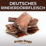 PrideDogs Rinderdörrfleisch kurz 500g der Premium Kausnack für Ihren Hund | 100% Rind aus...