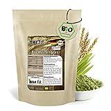 nur.fit by Nurafit BIO Weizengras Pulver 250g - rein natürliches Pulver aus Weizengras ohne...