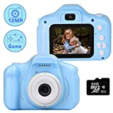 le-idea Kinder Kamera, Kids Camera Digitalkamera mit HD 1080P / Dual 12 Megapixel Kamera/ 2.0 IPS...