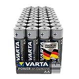 VARTA Power on Demand AA Mignon Batterien (40er Pack Vorratspack in umweltschonender Verpackung -...