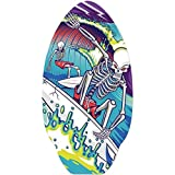 Yello Skimboard Skelett 50 x 76 cm