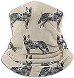 kasonj Hunde-Halstuch / Halstuch für Hunde, winddicht, atmungsaktiv, für Angeln, Wandern, Laufen,...