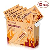 Supchamp Handwärmer, 10 Stück Einweghandschuhwärmer, bis zu 10 Stunden Wärme, Sichere,...