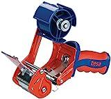 tesa 06400-00001-03 11926 Packband Handabroller, Modell Comfort für Rollen bis 66m x 50mm, Braun, 1