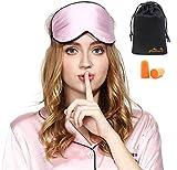 Viedouce Schlafmaske Seide Augenmaske,100% Hautfreundlich Seide Schlafmaske Frauen und Herren,...