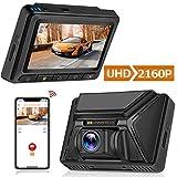 Oasser Dashcam Autokamera Full HD 4K 2880x2160P Car Camera mit GPS & WiFi Funktionen 3 Zoll...