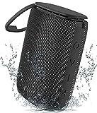 Bluetooth Lautsprecher, Sewowibo Tragbarer Kabelloser Bluetooth 5.0 Musikbox mit IPX7 wasserdichte...