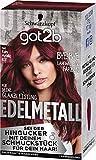 SCHWARZKOPF GOT2B Edelmetall, Haarfarbe M68 Ruby Metallic Rot, 1er Pack (1 x 142 ml)