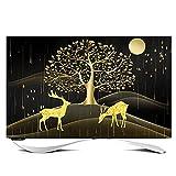 Schutzhülle Fernseher Outdoor Fernseher Außenbezug 100% Staub und Wasserdicht Universelle...