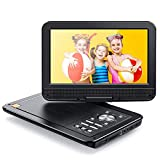 APEMAN Tragbarer DVD Player für Auto und Kinder, 10.5''mit Drehbarer Display Portable CD Player, 5...