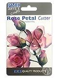 PME RP190 Rosenblütenausstecher, Sortiment, Edelstahl, Silber, 2 x 1.2 x 3.8 cm, 4-teilig
