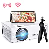 Mini Beamer, VicTsing WiFi Beamer Full HD 4500 Lumen Bluetooth LED Projektor, 1080P HD 170 ''...