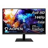 AOPEN 25MH1Q Pbipx 24,5 Zoll Full HD (1920 x 1080) TN Gaming Monitor mit AMD Radeon FreeSync...