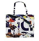 evoe Shopper Bag Collage Art Print - 24 Hours Bag Buddy inkl. praktischem Case - Wiederverwendbare,...