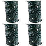 4x Gartenabfalltonne Pop Up faltbarer Gartensack 120Liter Laubsack aus stabilen Oxford Nylon bis 50...