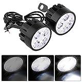 Universelle Motorrad-LED-Leuchte von Vgeby, Scheinwerfer, Nebellicht, Fernlicht, Tagfahrlicht,...
