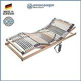 RAVENSBERGER MEDIMED 44-Leisten 7-Zonen-BUCHE-Lattenrahmen | Elektrisch | Made IN Germany - 10 Jahre...