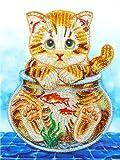 nobrand Puzzles 1000 Teile Puzzle Erwachsenen Kinder Bildungsgeschenk eine Katze Victoria Wadfllis...