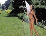 GARDENA Gartendusche solo: Dusche mit angenehmem Brausestrahl, Wassermenge stufenlos regulierbar und...