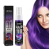 Temporäre Haarfärbemittel, Einweg-Haarfärbespray Farbspray Schnelles Spray, buntes Haarspray für...