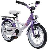 BIKESTAR Kinderfahrrad für Mädchen ab 4 Jahre | 14 Zoll Kinderrad Classic | Fahrrad für Kinder...