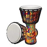 SuoSengHred Djemben, Profi Djembe Trommel Bongo Drum Buschtrommel Percussion, Afrika-Style...