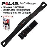Polar Brustgurt T34, unkodiert, Pulsmesser kompatibel mit Allen Cardio-Gerten und Marken, Keine...