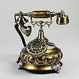 Silai Kabelgebundenes Telefon-Set für Zuhause, Anrufbeantworter, Retro-Stil, Schreibtisch, Telefon,...