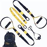 HOOMAGIC Schlingentrainer Set Sling Trainer Set mit Türanker Multifunktionaler Suspension Trainer...