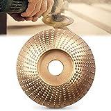 Holz Winkelschleifscheibe Schleifen Disc Carving Tool, Wolfram Stahl, Holzraspel für...