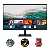 Samsung M7 Smart Monitor 32-Zoll Bildschirm VA-Panel UHD mit Lautsprechern 4K USB Typ C Randlos...