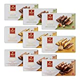 Frey 9x feinste Schokoladentafeln aus 3 Sorten - Duett Mix - Schweizer Schokolade Tafel mit Nüssen...