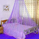 Elegante Spitze, Insektenbetthimmel für Bett, rund, Kuppel, Moskitonetz