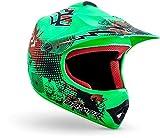 "armor HELMETS® AKC-49 ""Limited Green"" · Kinder Cross-Helm · Motorrad-Helm MX Cross-Helm MTB..."
