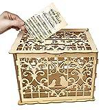 Nsblln Wedding Card Box Geschenk mit Blockierung liefert schöne Dekoration Hochzeit...