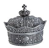 VOANZO Jewellery Storage Organizer - Alloy Crown Make-up Schmuck Aufbewahrungsbox Verschiedene...