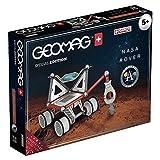 Geomag 809 Special Edition Rover Lunare NASA, Multicolor(Schwarz/Grau/Rot), 52 Stück