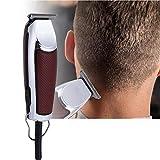 Elektrischer Haarschneider, wiederaufladbarer Haarschneider Baber Trimmer Rasierapparat für...