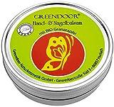 GREENDOOR Handbalsam für sehr trockene Haut mit BIO Granatapfel + Avocadoöl, Naturkosmetik ohne...