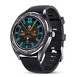 GOKOO Smartwatch GPS Fitness Armbanduhr Damen Herren IP68 Wasserdicht Herzfrequenz-Schlafmonitor...