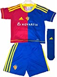 Adidas FC Basel Baby Minikit Trikot Set rot blau 3-TLG. Gr. 92