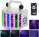 Family Disco Bhnenlichter DJ beleuchtet Disco-Leuchten LED-Bhnenbeleuchtung RGB Party-Lichter Sound...
