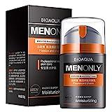 Tinked 50g Gesichtscreme für Männer Feuchtigkeitscreme Replenish Water Oil Control Gesichtspflege...