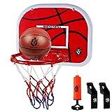 Dreamon Basketballkorb fürs Zimmer , Kinder Mini Basketball Korb Set mit Ball Netz und Luftpumpe...