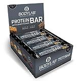 Bodylab24 Protein Bar 12 x 65g | Protein-Riegel mit 27g Eiweiß pro Riegel | Zuckerarmer Fitness...