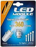 Litexpress LXB404 Led Upgrade Modul 360 Lumen Maglite Taschenlampe (Geeignet für 3 - 6 C/D-Cell...