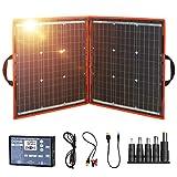 Dokio 80W Solartasche Faltbares Mobiles Solar-Panel Mit Effektivsten Monokristallinen...