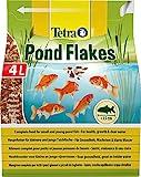 Tetra Pond Flakes  Fischfutter fr kleinere und junge Teichfische in Flockenform, fr eine...