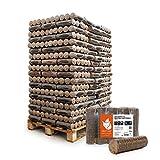 PALIGO Holzbriketts Nestro Hartholz Eiche Kamin Ofen Brenn Holz Heiz Brikett 6kg x 162 Gebinde 972kg...